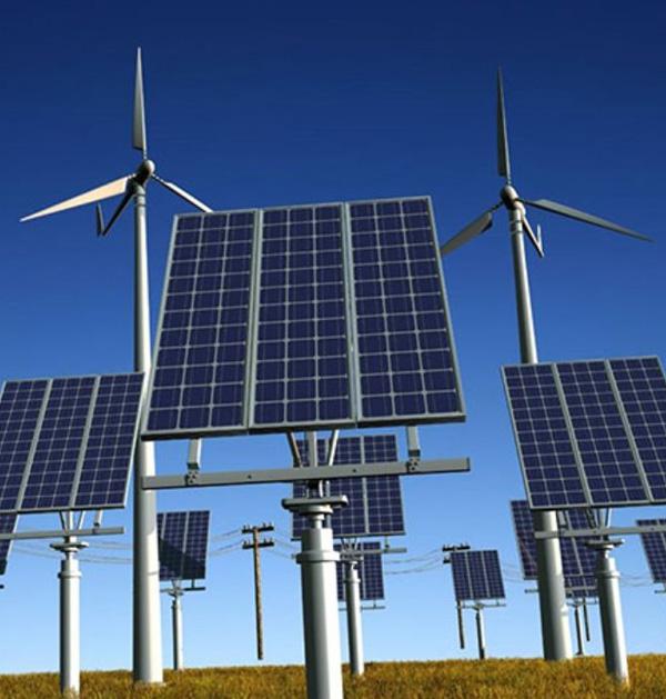 سیستم هیبرید تولید برق بادی و خورشیدی - شرکت دانش بنیان فراسو سپهر آریا